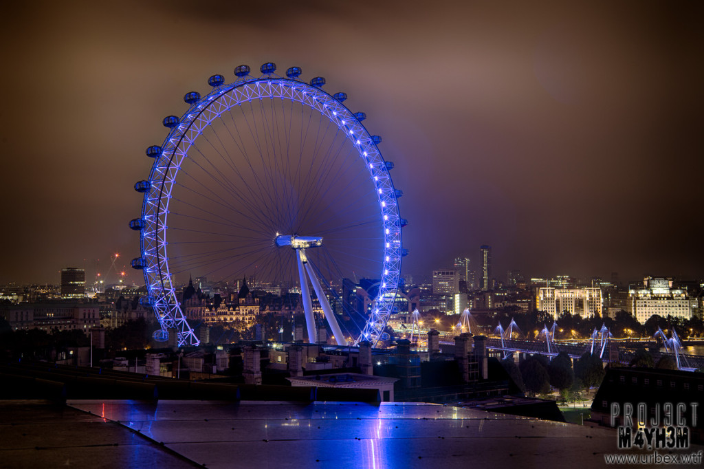 London Rooftops - The London Eye