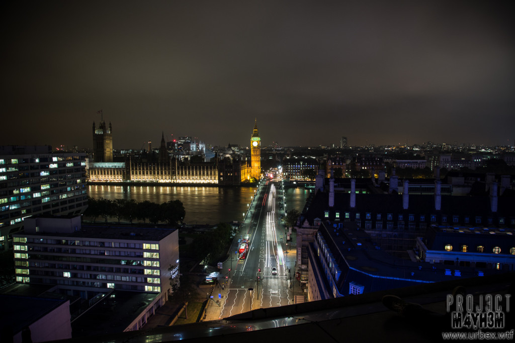 London Rooftops - The Palace of Westminster