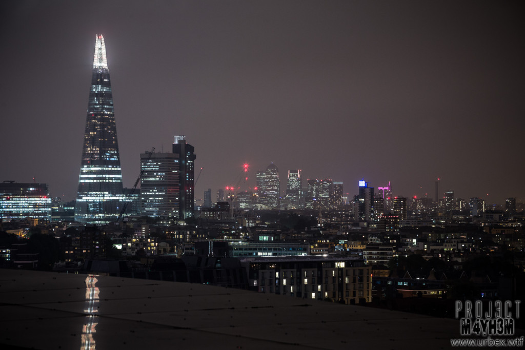 London Rooftops - The Shard