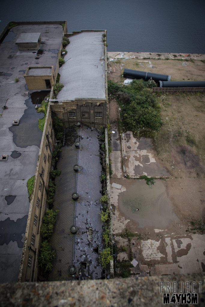 Spillers Millennium Mills - View from the top