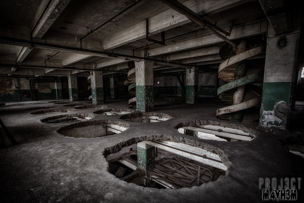 Spillers Millennium Mills - Holes in the floor