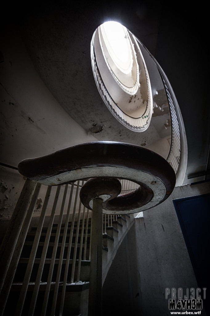 The Royal Hospital Haslar aka Serenity Hospital - Spiral Staircase