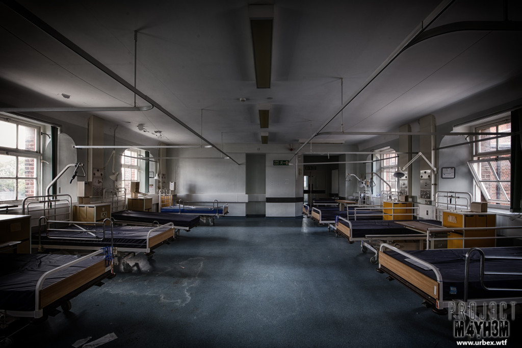 The Royal Hospital Haslar aka Serenity Hospital - A ward full of beds