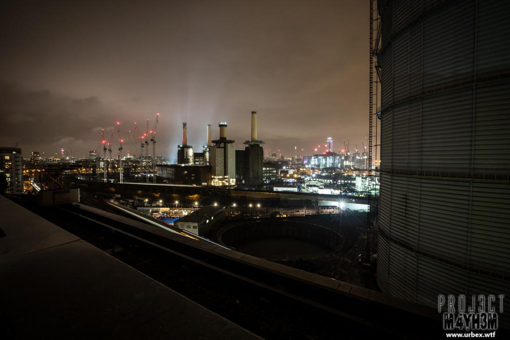 Battersea Park Rooftop - Battersea Powerstation
