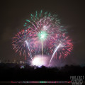 Battersea Park Rooftop Fireworks Display