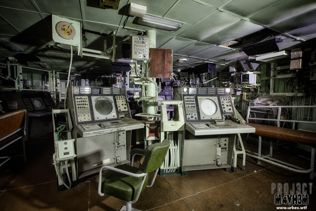 The Atlantic Ghost Fleet Radar and Weapons Launch Room