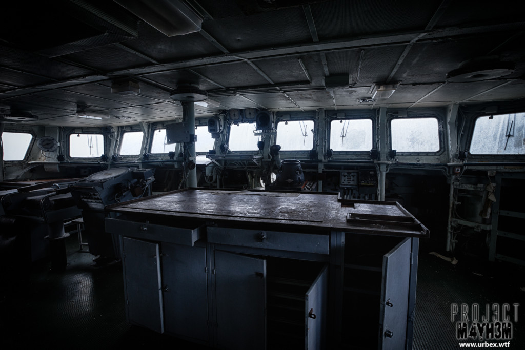 The Atlantic Ghost Fleet Captains Deck