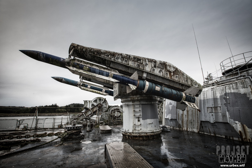The Atlantic Ghost Fleet - Missiles