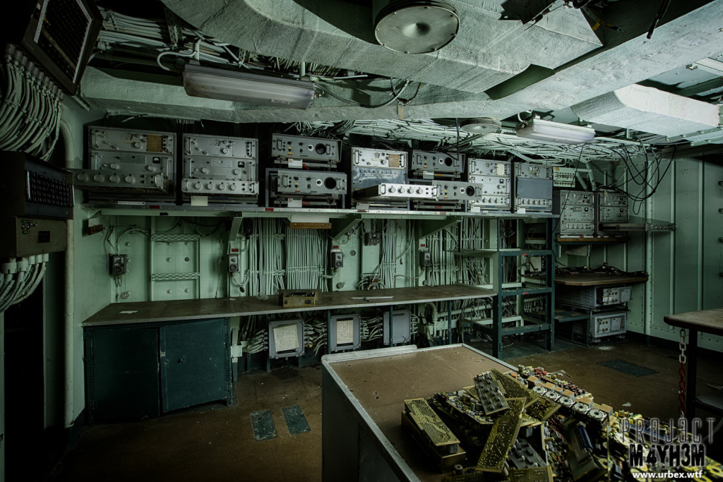 The Atlantic Ghost Fleet Communications Room