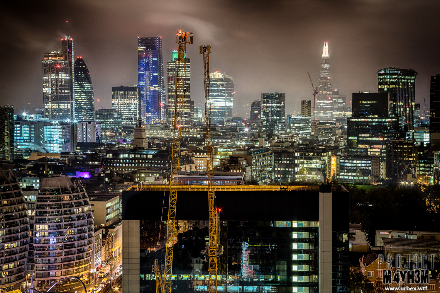 Up And Coming Areas In London >> PROJ3CTM4YH3M Urban Exploration | Urbex: London Rooftops ...
