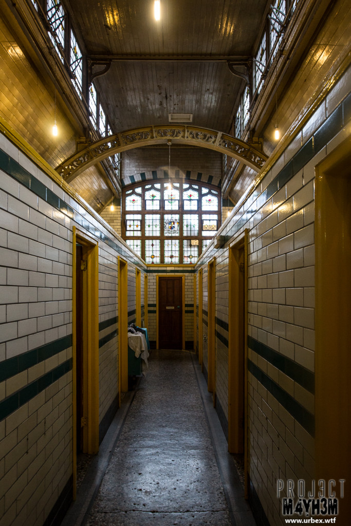 Moseley Road Baths - Slipper Bath Corridors