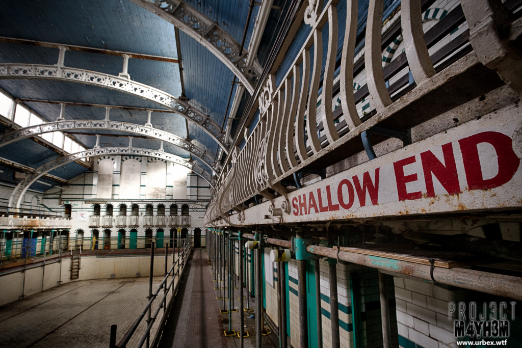 Moseley Road Baths - The abandoned Gala Pool