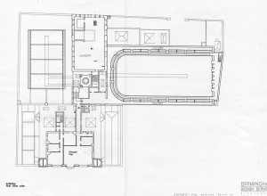 Moseley Road Baths - First Floor Plans
