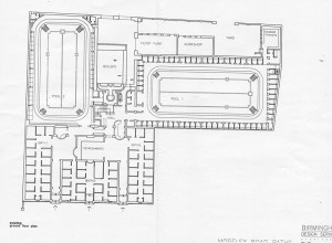 Moseley Road Baths - Ground Floor Plans