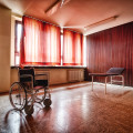 A German Psychiatric Hospital - Wheelchair