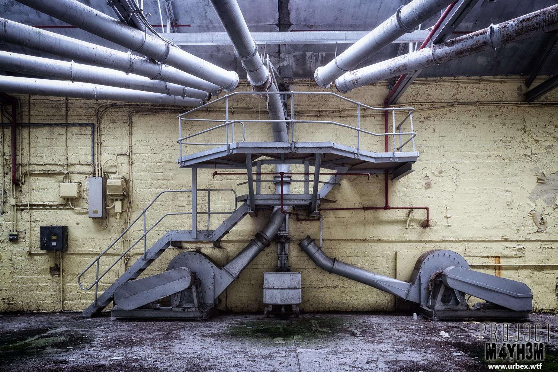 Robert Fletchers & Sons Ltd Paper Mill - Pipes!