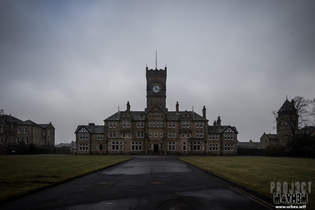 High Royds Insane Asylum aka West Riding Pauper Lunatic Asylum
