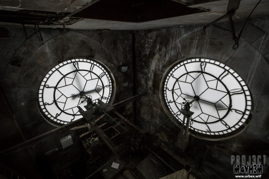 High Royds Insane Asylum - Clock Tower