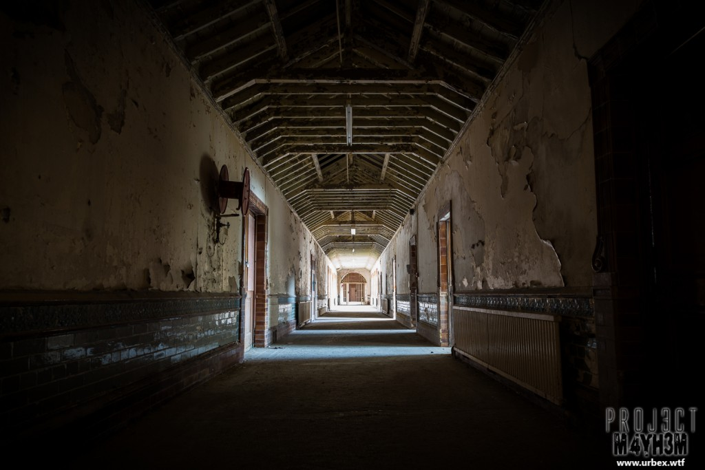 High Royds Insane Asylum - Corridor