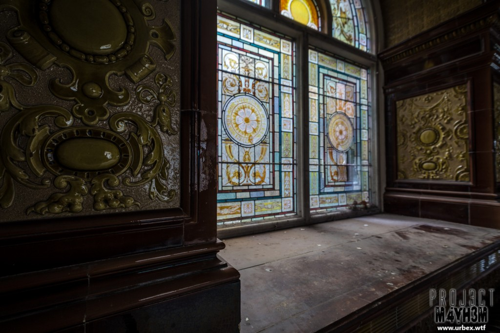 High Royds Insane Asylum - Stained Glass