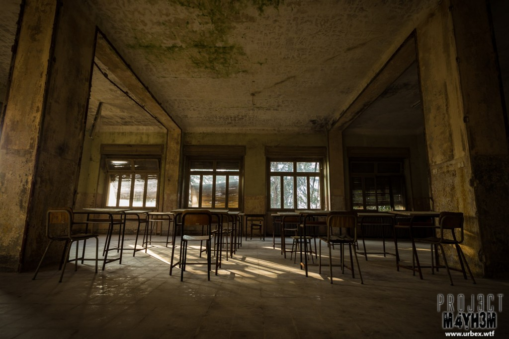 Mono Orphanage aka Crying Baby Hospital - Empty Classroom