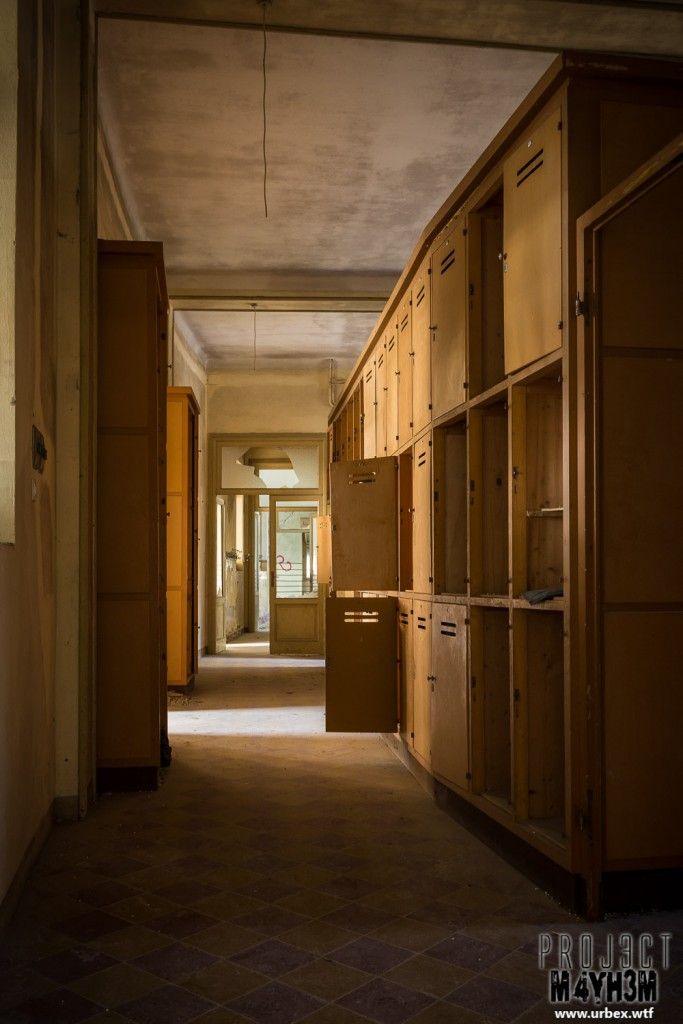 Mono Orphanage aka Crying Baby Hospital - Corridor of Lockers