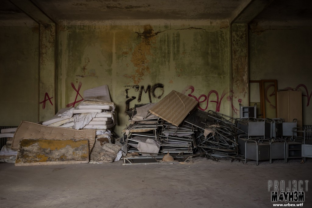Mono Orphanage aka Crying Baby Hospital - Collapsed Beds