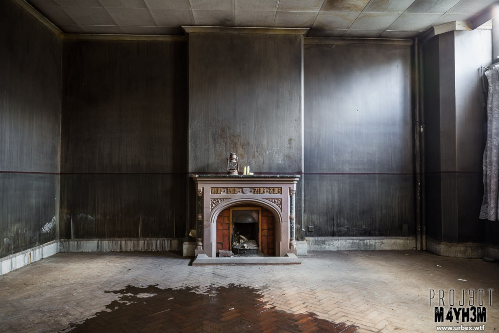 St Josephs Seminary - Fireplace