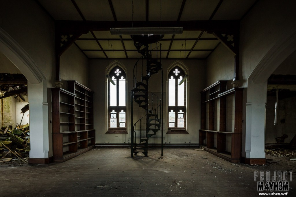 St Josephs Seminary - Library Spiral Staircase