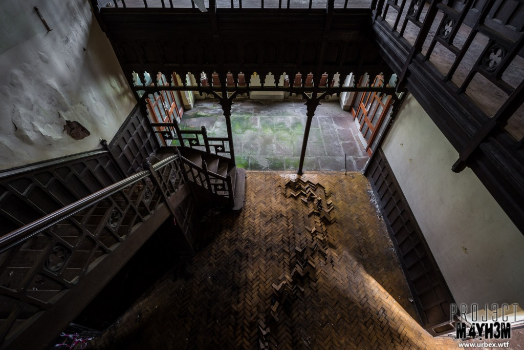 St Josephs Seminary - Main Staircase