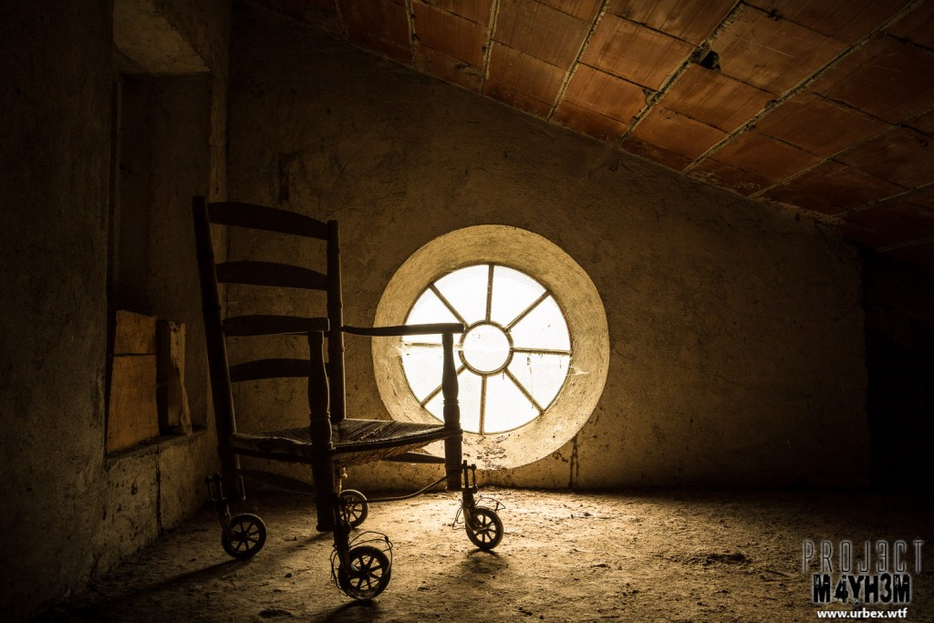 Monastero MG Italy - Wheel Chair in the Attic...