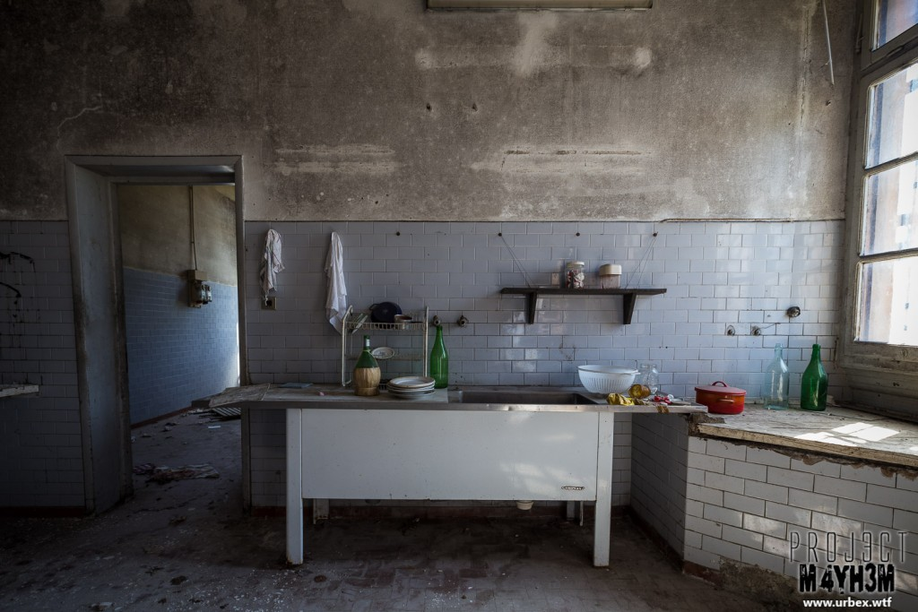 Blue Chapel Monastery - Kitchen