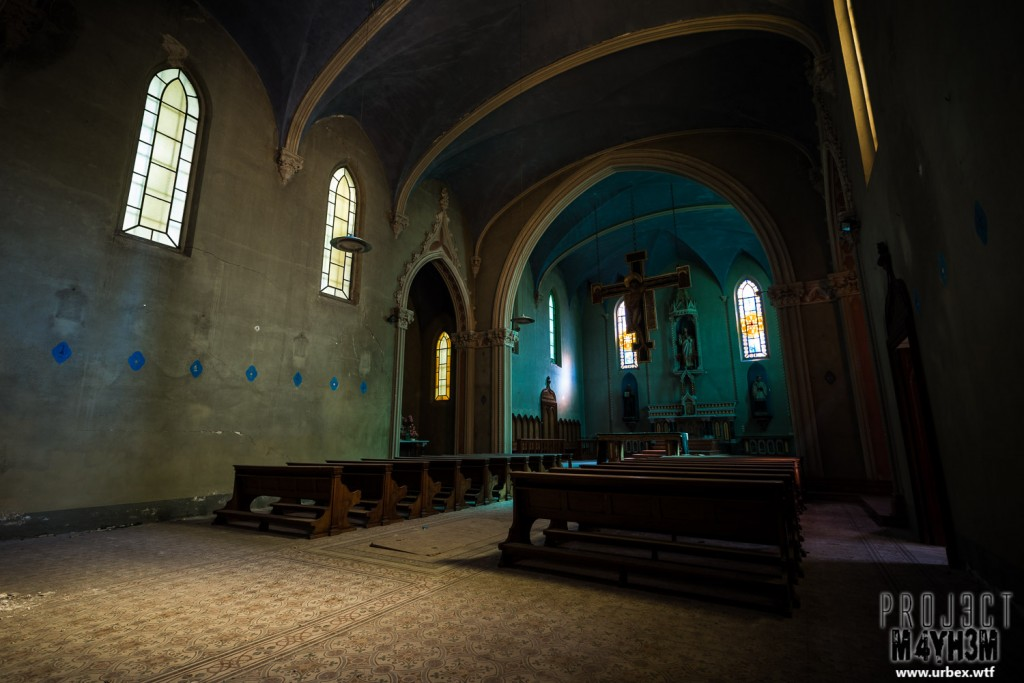 Blue Chapel Monastery - The Main Chapel