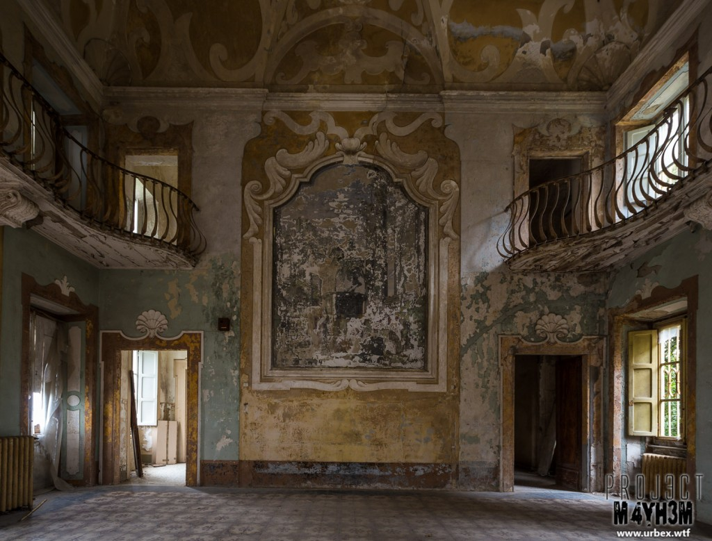 Villa Sbertolli - Main Hall