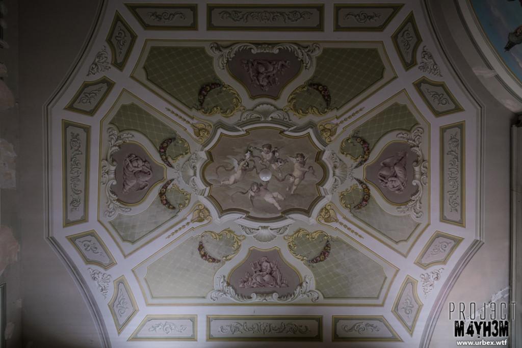 Villa PDO - Bedroom Ceiling
