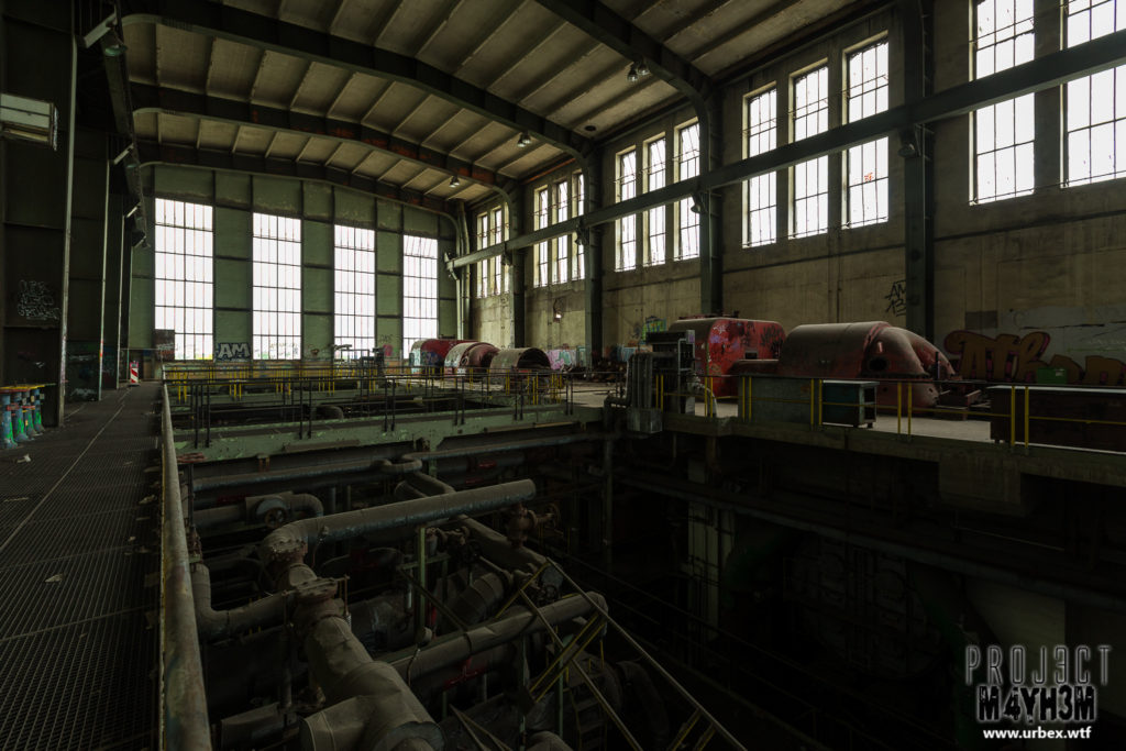 Central Thermique - Turbine Hall