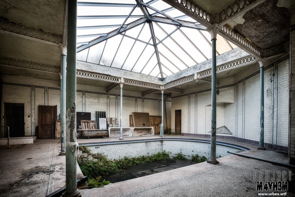 Buxton Natural Mineral Water Baths