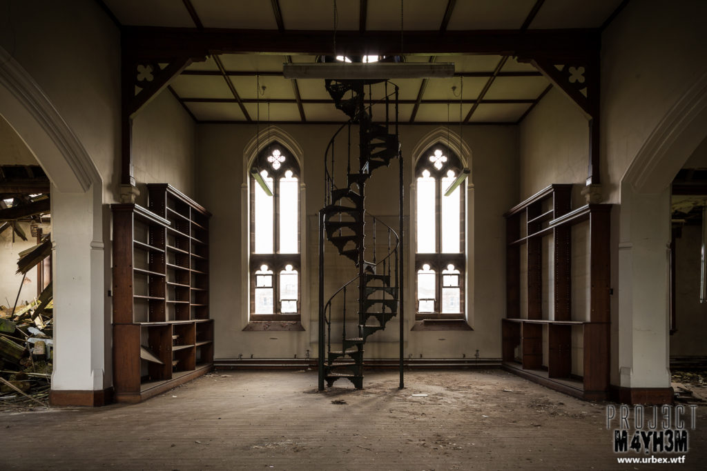 St Josephs Seminary Upholland - Library Spiral Staircase