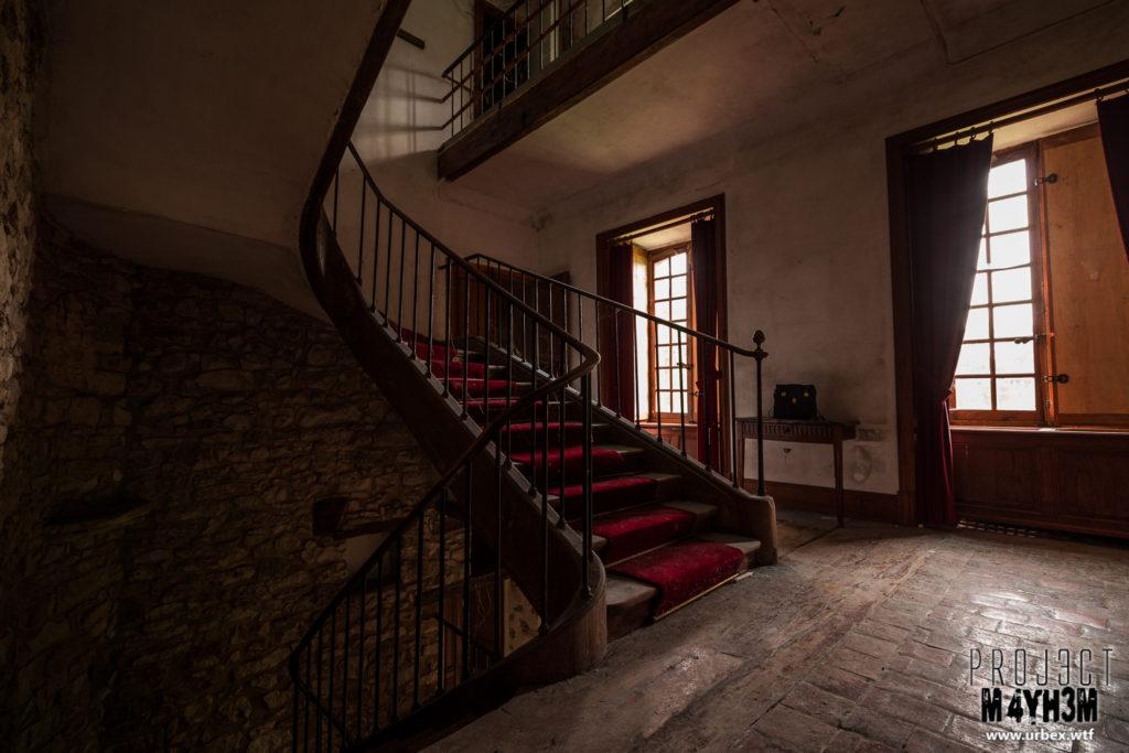 Château Fachos Staircase