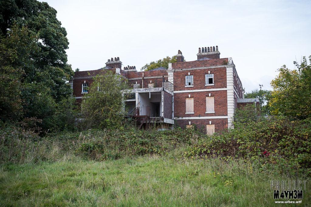 Daresbury Hall aka Zombie Manor