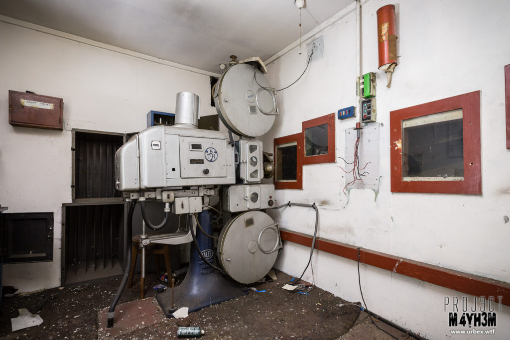 The Crescent Cinema Pontefract - Projector Room