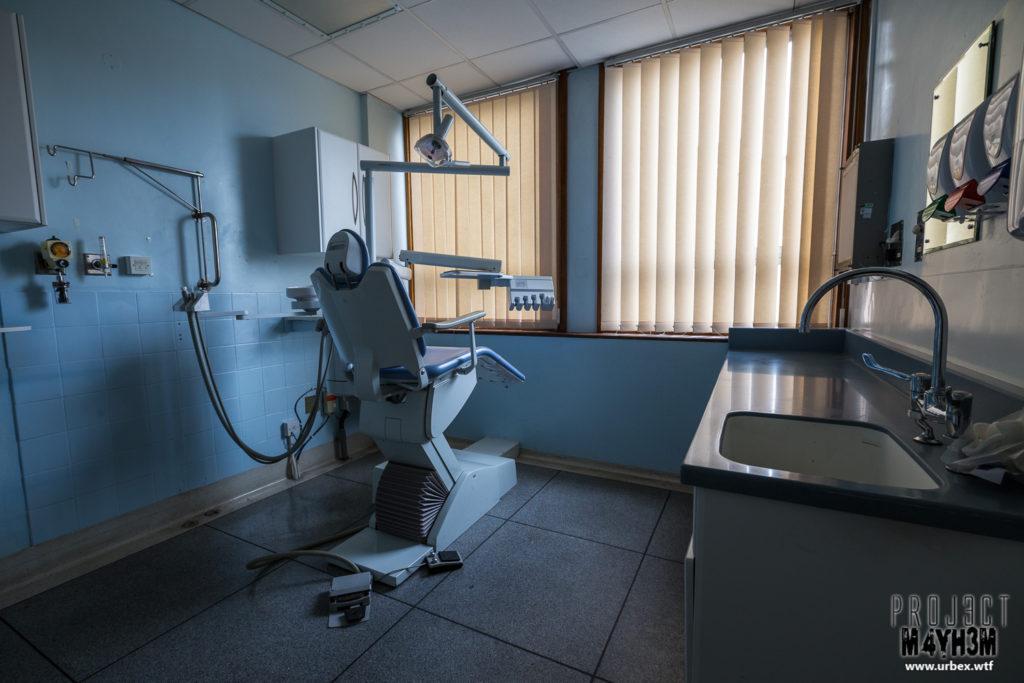 The Queen Elizabeth II Hospital - Dentist Chair