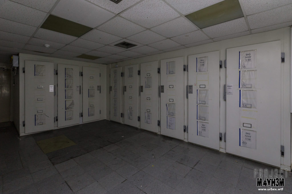 The Queen Elizabeth II Hospital - Morgue Fridges