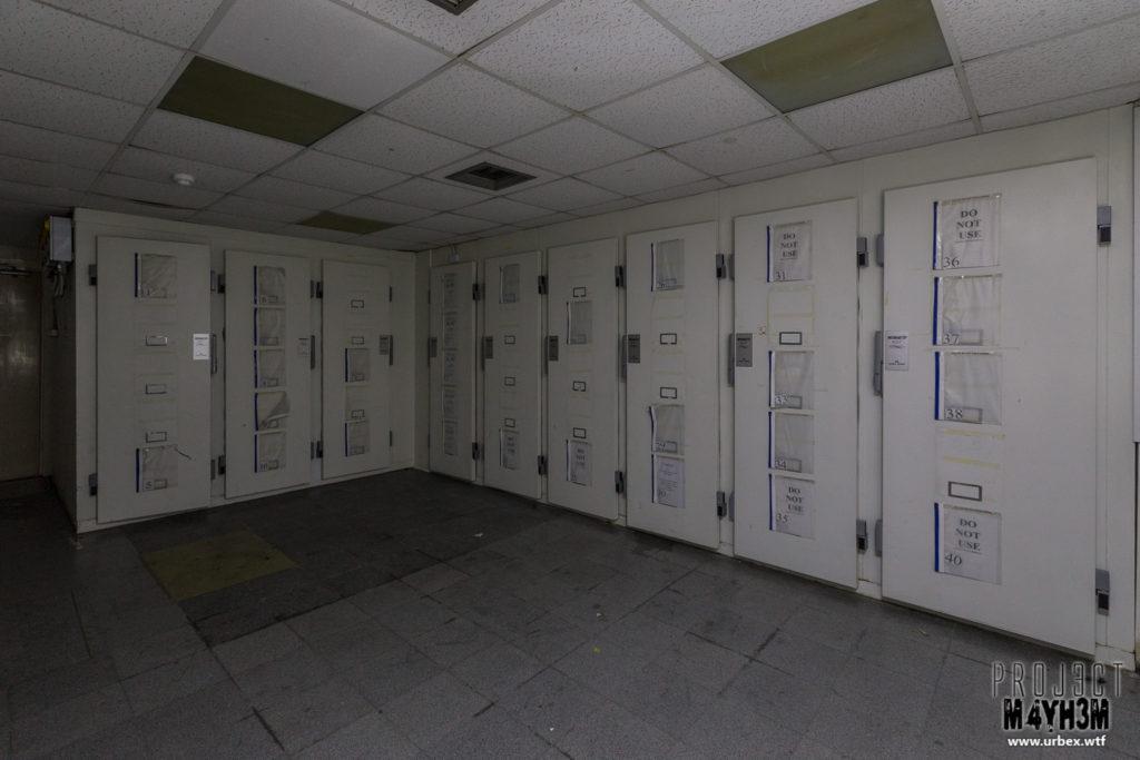The Queen Elizabeth II Hospital - Morgue Fridges