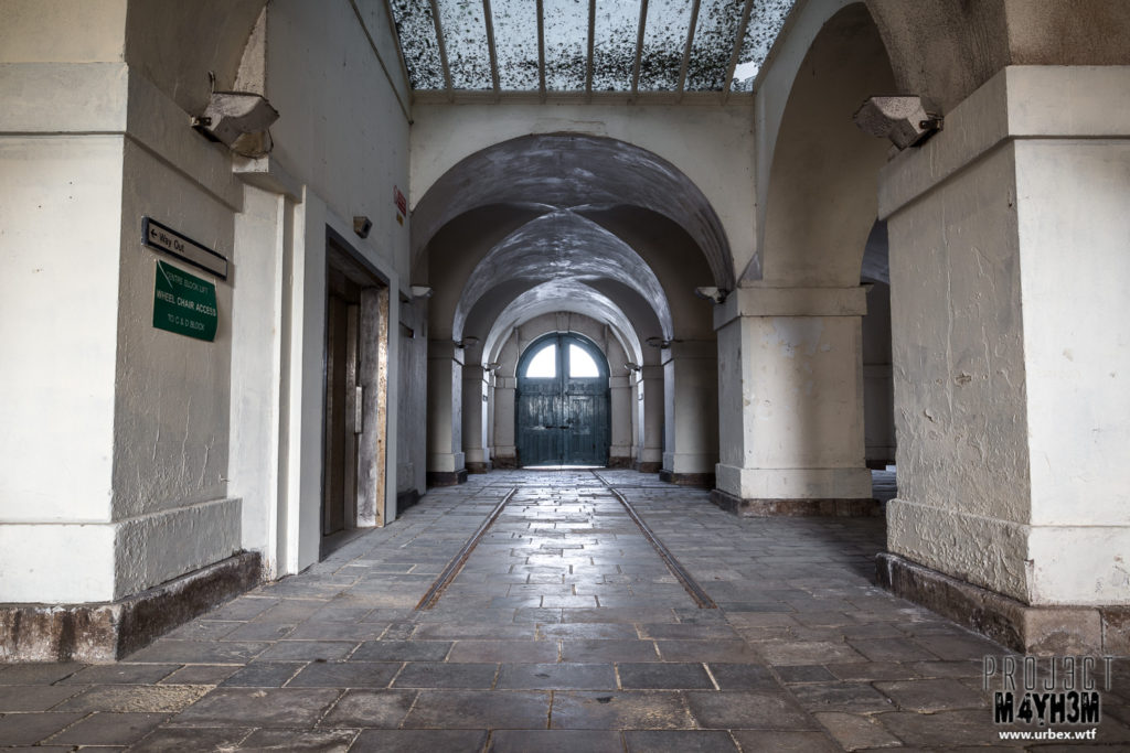 The Royal Hospital Haslar Entrance Hall
