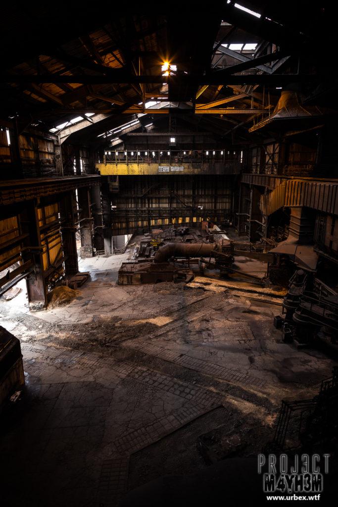 Teeside Steelworks Blast Furnace Redcar