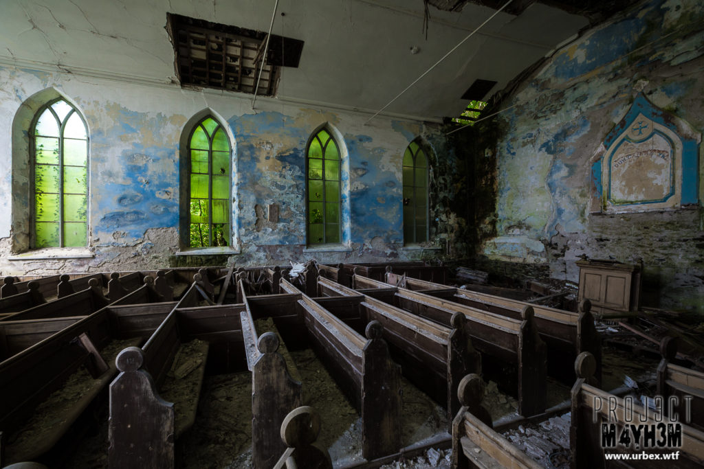 The Blue & Green Chapel