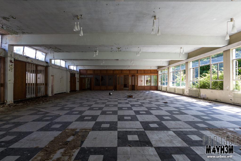 RAF Church Fenton - Dining Hall