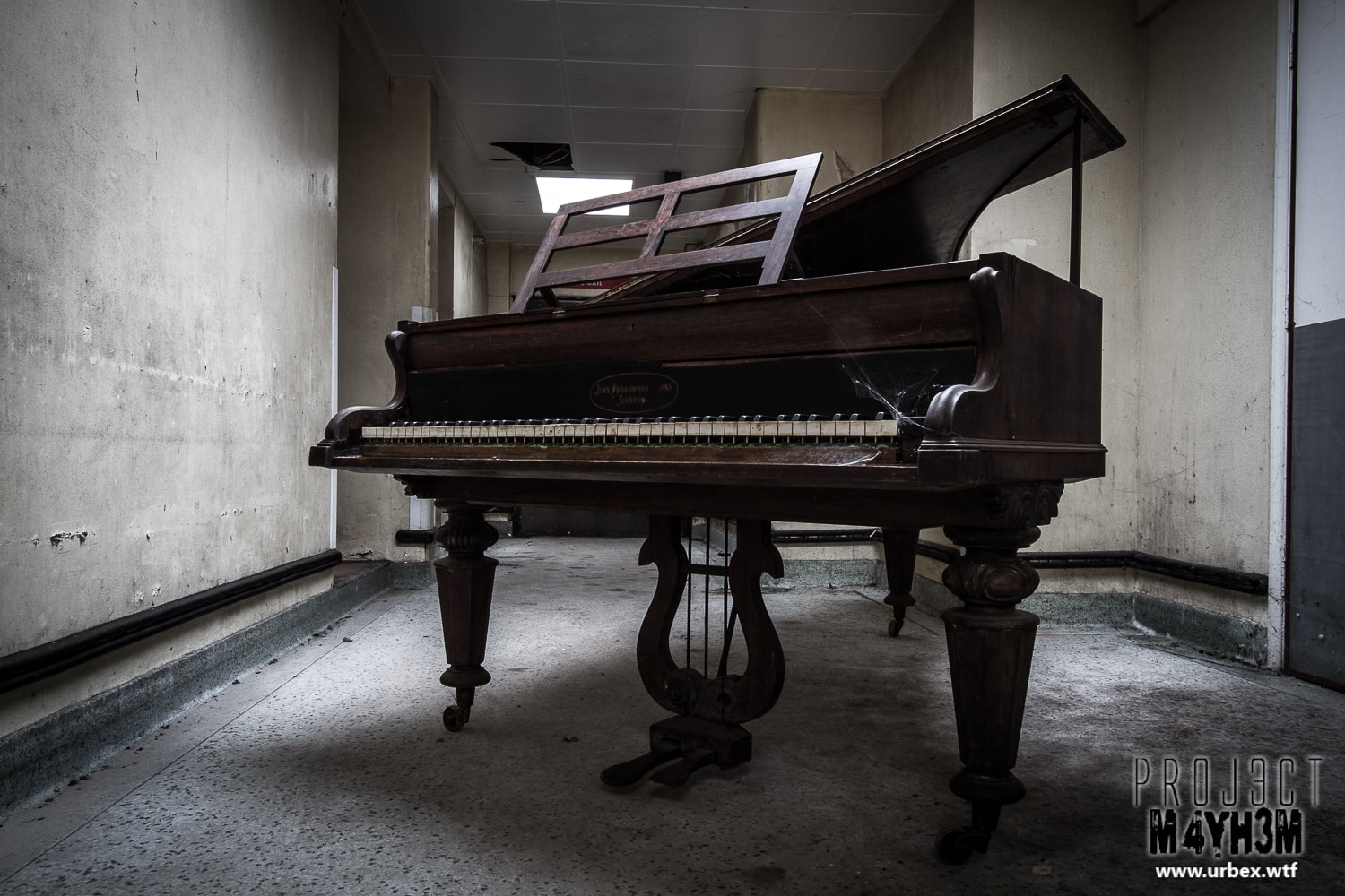1. John Broadwood & Sons Grand Piano