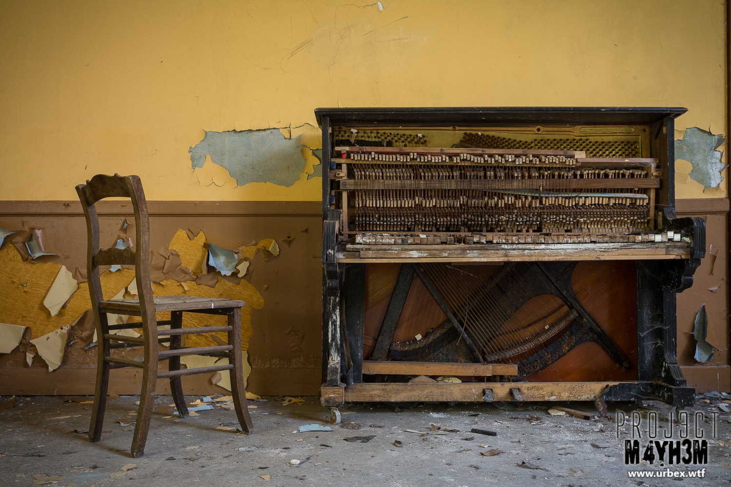 11. Unidentified upright Piano